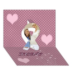 Ribbon 3D Greeting Card (7x5)