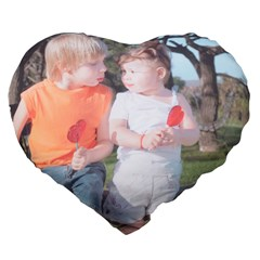Large 19  Premium Heart Shape Cushion