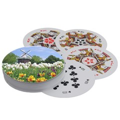 Playing Cards (Round)