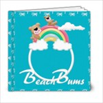 Beach Bums 6x6 photobook - 6x6 Photo Book (20 pages)