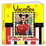 DISNEY 2012 - 12x12 Photo Book (20 pages)