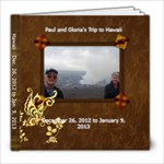 Paul and Gloria - 8x8 Photo Book (20 pages)
