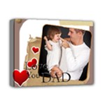 fathers day - Deluxe Canvas 14  x 11  (Stretched)