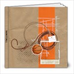 Basketball 8x8 Photo Book - 8x8 Photo Book (20 pages)