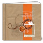 Basketball 8x8 Deluxe Photo Book - 8x8 Deluxe Photo Book (20 pages)