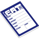 Weekly Planner - Blue - Large Memo Pads