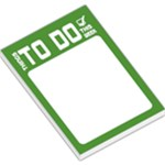 To DO List - Green - Large Memo Pads