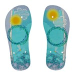 Very Summerly women flip flop with Dragonfly - Women s Flip Flops