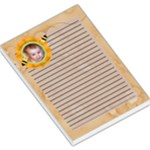 Grandma Loves Her Sweet Honey Bee Large Memo Pad2 - Large Memo Pads