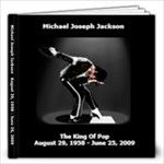 MJJ King of Pop - 12x12 Photo Book (100 pages)
