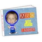 Boy s ABC Book #3 - 7x5 Deluxe Photo Book (20 pages)