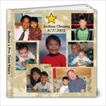 Josh Pre-Teen Years - 8x8 Photo Book (20 pages)
