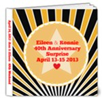Delux Anniversary - 8x8 Deluxe Photo Book (20 pages)