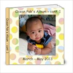 Ocean s 3-6 mths_Fion - 6x6 Photo Book (20 pages)