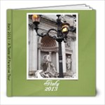 Italy 2013 - 8x8 Photo Book (20 pages)