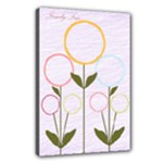 Family Tree (for girls) 18x12 Canvas - Canvas 18  x 12  (Stretched)