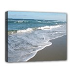 14x11 Beach 2 stretched canvas - Canvas 14  x 11  (Stretched)