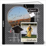 Graduation/Graduate 12x12 Photo Book - 12x12 Photo Book (20 pages)