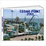 Cedar Point 2013 - 7x5 Photo Book (20 pages)