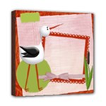 Newborn Girl 8x8 Canvas - Mini Canvas 8  x 8  (Stretched)