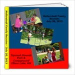 Hellerstedt Family Gathering 2013 - 8x8 Photo Book (20 pages)