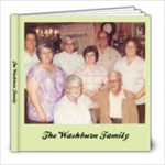 Washburn Family 2 - 8x8 Photo Book (20 pages)