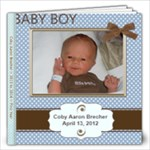 Coby s Baby Book - 12x12 Photo Book (20 pages)