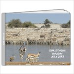 etosha 2013 - 9x7 Photo Book (20 pages)