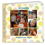 Nathan First Year 2013 - 8x8 Deluxe Photo Book (20 pages)