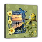 April Shower - Mini Canvas 8x8(Stretched)  - Mini Canvas 8  x 8  (Stretched)