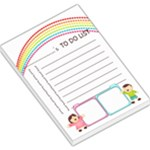 Rainbow To Do List Pad - Large Memo Pads