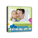 kids, father, family, fun - Mini Canvas 4  x 4  (Stretched)