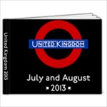 UK July August 2013 - 9x7 Photo Book (20 pages)
