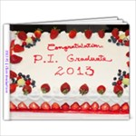 2013 E Class Graduations - 9x7 Photo Book (20 pages)