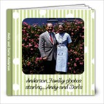 Andy and Doris Anderson s Book 2 finished ! - 8x8 Photo Book (20 pages)