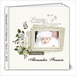 Christening March 2013 - 8x8 Photo Book (39 pages)