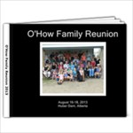 O How Family Reunion 2013 - 9x7 Photo Book (20 pages)