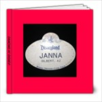 Janna s disney book - 8x8 Photo Book (20 pages)
