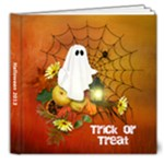 Trick or Treat sample - 8x8 Deluxe Photo Book (20 pages)