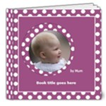 Pink and lilac Deluxe Picture book 8x8  (32 pages) - 8x8 Deluxe Photo Book (20 pages)
