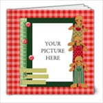 Christmas Frames 2 - 8x8 Photo Book (20 pages)