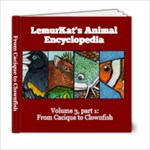 LemurKat s Animal Encyclopedia - Volume 3 part 1 - 6x6 Photo Book (20 pages)