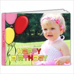 happy birthday - 7x5 Photo Book (20 pages)