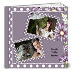 Our lilac Picture book 8x8  (20 pages) - 8x8 Photo Book (20 pages)