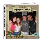 Rhodes 2012 - 6x6 Photo Book (20 pages)
