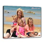 chantel and kids - Canvas 20  x 16  (Stretched)
