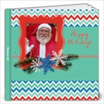 Teal & Red Holiday- 12x12 Photo Book - 12x12 Photo Book (20 pages)