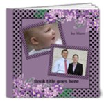 My lilac Picture Deluxe book 8x8  (20 pages) - 8x8 Deluxe Photo Book (20 pages)
