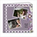 Our lilac Picture book 6x6  (20 pages) - 6x6 Photo Book (20 pages)