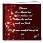 XMAS 2013 - 8x8 Deluxe Photo Book (20 pages)